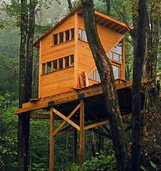 grownup treehouse retreat