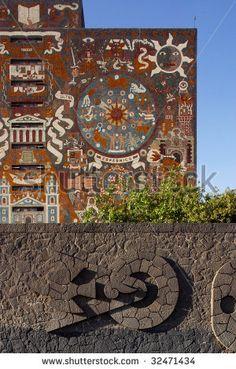 UNAM Edificio de la Biblioteca Central, Ciudad de México