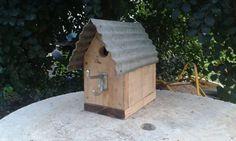 Rustic Pallet Birdhouses Animal Houses & Supplies