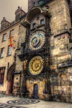 Prague cz-Prague Astronomical Clock Praha-Pražský orloj