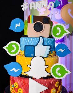 Emoji vira Tema de Festa Teen - Feliz com Pouco