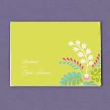 Garden Glamour Note Card and Envelope