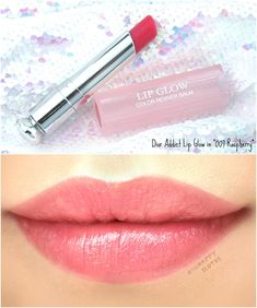 """Dior Addict Lip Glow Color Reviver Balm in Ultra-Pink"""" Lip Gloss Colors, Pink Lip Gloss, Lipstick Colors, Lip Colors, Blue Lipstick, Gloss Lipstick, Lipstick Shades, Dior Lip Glow, Lipsticks"""