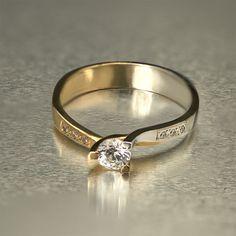 Μονόπετρο Δαχτυλίδι TASOULIS JEWELLERY.  Δείτε το στο www.GamosPortal.gr Wedding Rings, Engagement Rings, Jewelry, Design, Fashion, Enagement Rings, Moda, Jewlery, Jewerly