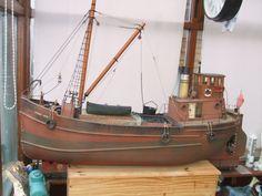 Photo by Ian Coxshall Scale Model Ships, Scale Models, Wooden Ship Model Kits, Nautilus Submarine, Model Sailboats, Model Boat Plans, Nautical Art, Tug Boats, Model Building