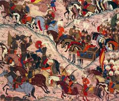 Battle of Mohacs in Hungary on August 29, 1526