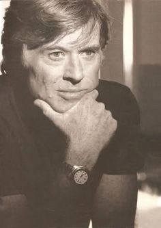 """ ""A lot of what acting is, is paying attention.""–Robert Redford """
