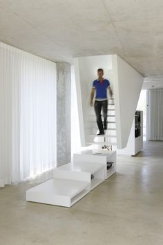 H House / Wiel Arets Architects #stairs #stylepark