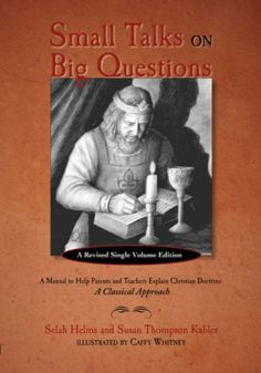 SMALL TALKS ON BIG QUESTIONS: A Manual to Help Explain Christian Doctrine by Selah Helms http://www.amazon.com/dp/1599251094/ref=cm_sw_r_pi_dp_nUDzvb16E3E58