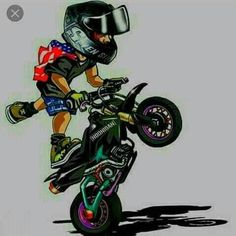 Badass Motorcycle Artwork by Scaronistefano Motocross Ktm, Stunt Bike, Moto Bike, Motorcycle Art, Motorcycle Touring, Motorcycle Quotes, Moto Wallpapers, Ktm Dirt Bikes, Dirt Biking
