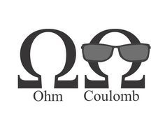 :)) the difference between Ohm & Coulomb