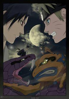 Sasuke & Naruto ❤❤❤❤❤❤ shared by Valantu Jackson Naruto Vs Sasuke, Sasuke Sakura, Art Naruto, Manga Naruto, Naruto Shippuden Anime, Itachi Uchiha, Boruto, Sasunaru, Naruhina