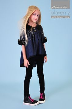 Ansley twirl Top Dress Tunic PDF pattern OPTIONS by blaverry