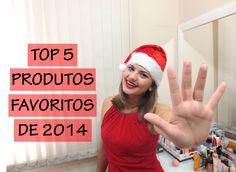 Top 5 produtos favoritos de 2014