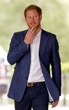 Prince Harry attends the launch of the Heads Together campaign to eliminate…
