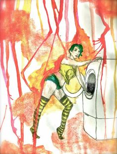 Sure, I love washing your dirty chlotes by KarineOnTheMoon on DeviantArt