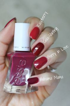Essie Gel Couture Bridal 2017 Collection : Swatches & Comparisons | Essie Envy