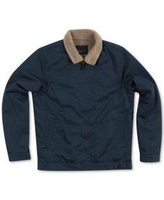 O'Neill Faux-Shearling-Lined Full-Zip Man Jacket
