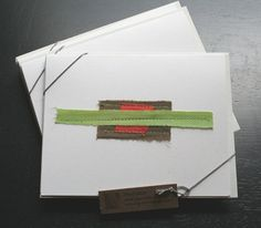 Green/Orange Card. $3.00, via Etsy.  ---Check out another card!