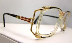 WOW  Vintage CAZAL Eyeglasses  AMAZING style  by ifoundgallery, $145.00