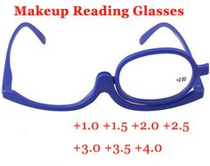2014 Makeup Magnifying Glasses Degree of Women Folding Reading Cosmetic Glasses Eyeglasses for female Make up Eye  free shipping