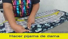 Curso como hacer pijama de dama – 🎓 AprendeloGratis 🎓 Cursos 2020 Pyjamas, Diy Tote Bag, Sewing Techniques, Sewing Clothes, Beach Mat, Outdoor Blanket, Bags, Fashion, Sewing Tutorials