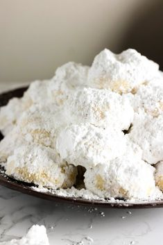 Kourabiedes are delicious, melt-in-your-mouth butter almond cookies and a staple in Greek households during Christmas time.