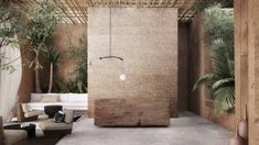 Tropical Architecture, Modern Architecture, Home Design Decor, House Design, Interior Design, Outdoor Restaurant Design, Colonial, Room Of One's Own, Bali Fashion