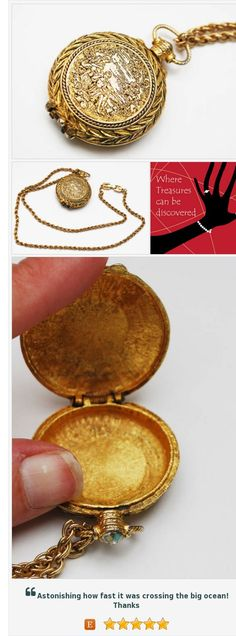 Vintage perfume Locket Pendant Etched Gold -victorian Revival - Necklace https://www.etsy.com/serendipitytreasure/listing/518258109/vintage-perfume-locket-pendant-etched