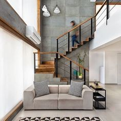 New post is live! Trendy home with super unique staircase. Link in bio, go check it! #minimalism #greyinterior #livingroom #bedroom #bathroom #kitchen #contemporaryart #contemporary #contemporarydesign #interiors #interior4all #design #designs #designlife #home #homedecor #housedesign #architecture #architectureporn #architecturelovers #bathroompic #bathroomdesign #bathroomdecor #livingroomdecor #luxuryhomes #luxurylife #luxury #contemporaryhome #contemporaryfurniture