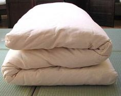#7 Futon: It keeps my back straight when sleeping and I like its portability (specially for sleepovers!) (^^)