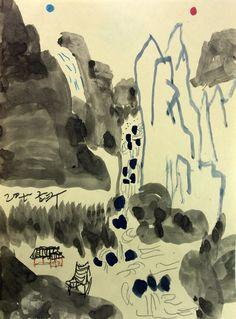https://www.facebook.com/sahong.gum Gum-Sahong Drawing.Folk  금사홍,드로잉,민화