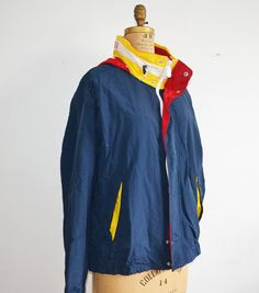 vintage Tommy Hilfiger windbreaker sailor jacket with by zaama Tommy  Hilfiger Windbreaker, Windbreaker Jacket, f05992b9798f