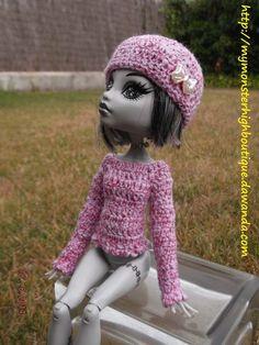 Ropa para Monster High s438 de My Monster High Boutique por DaWanda.com