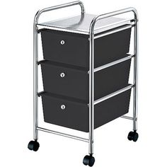 Mainstays 3-Drawer Storage Cart