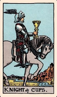 The Card of the Day: The Knight of Cups