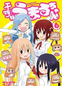 El Manga de Himouto! Umaru-chan tiene mas de 1.5 millones de copias en circulación.