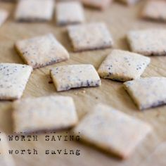 Paleo Garlic Crackers