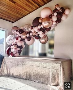 Birthday burgundy, pink and rose gold balloon garland by Stylish Soirees Perth. gold wedding decorations Burgundy, pink and rose gold balloon garland by Stylish Soirees Soirees Perth Baby Shower Decorations, Wedding Decorations, Pink And Gold Decorations, 18 Birthday Party Decorations, Sweet 16 Party Decorations, Sweet 16 Decorations, Ball Decorations, Balloon Decorations Party, Wedding Ideas