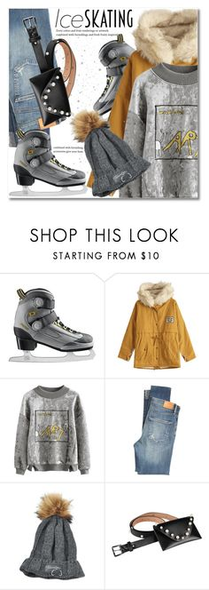 """""""Skate Date: Ice Skating Outfit"""" by svijetlana ❤ liked on Polyvore featuring Citizens of Humanity, iceskatingoutfit and zaful"""
