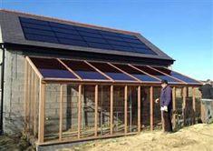 BIPV Building Integrated Transparent Photovoltaic Solar Glass Cedar Greenhouse | Polysolar