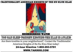 The KKK Is Leaving Chilling Fliers on the Doorsteps of Kentucky Homes