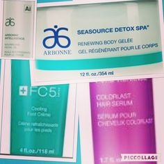 SOLUTIONS FOR A SEXY SUMMER Tame fly aways and control frizzy hair with Pure Vibrance Colorlast leave-in serum that absorbs quickly for superior shine Like a superfood for your skin this summer, Arbonne Intelligence nourishing oil provides just the right amount of hydration and moisture that you need After the beach or a long run, cool off with SeaSource Detox Spa Renewing Body Gelée, the refreshing gel hydrates for soft, smooth feeling skin Get your feet flip flop ready! Step into our…