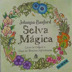 Iniciando os trabalhos do Selva Mágica #selvamagica #selvamagicaoficial #magicaljungle #magicaljunglecoloringbook #johannabasfordmagicaljungle #johannabasford #boracolorirtop #desenhoscolorir #coloring #coloringbookforadults #coloriage