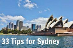 33 travel tips for Sydney, Australia - Bucket List: http://www.ytravelblog.com/things-to-do-in-sydney/