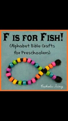 Day 5 of Creation Craft for pre schoolers