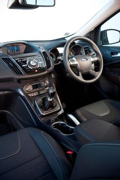 The new Ford Kuga is available in both manual and automatic transmissions Car Ford, Automatic Transmission, New Model, Manual, Product Launch, Textbook