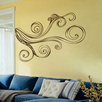 <3 wall decals. Thinking of using this over the staircase