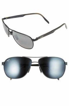 0aa8b0120d Maui Jim  Castles - PolarizedPlus®2  61mm Aviator Sunglasses Γυαλιά
