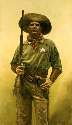 "This is ""The Deputy"" by Don Stivers."